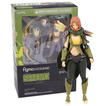 DOTA 2 figma SP-070 Windranger PVC Action Figure Koleksiyon Model Oyuncak
