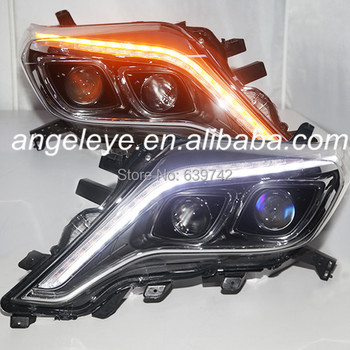 TOYOTA Prado FJ150 için LED Angel Eyes Far led şerit yıl TLZ