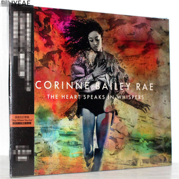 BINYEAE Kenny Belle Corinne Bailey kalp fısıltı Rae Deluxe Edition CD ses video paketi posta